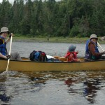 Canoe 150x150 Our first family wilderness canoeing journey
