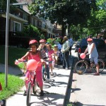 BikeParade 150x150 Kids Canada Day bicycle parade and bike exchange