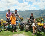 The Vogels A couple and their twin sons go on epic bicycle adventures, including cycling the Pan-American Highway.