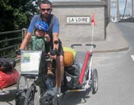 The Duggans In summer 2010, Linda, Phil and 2 year old Luca set off around the world by bike.